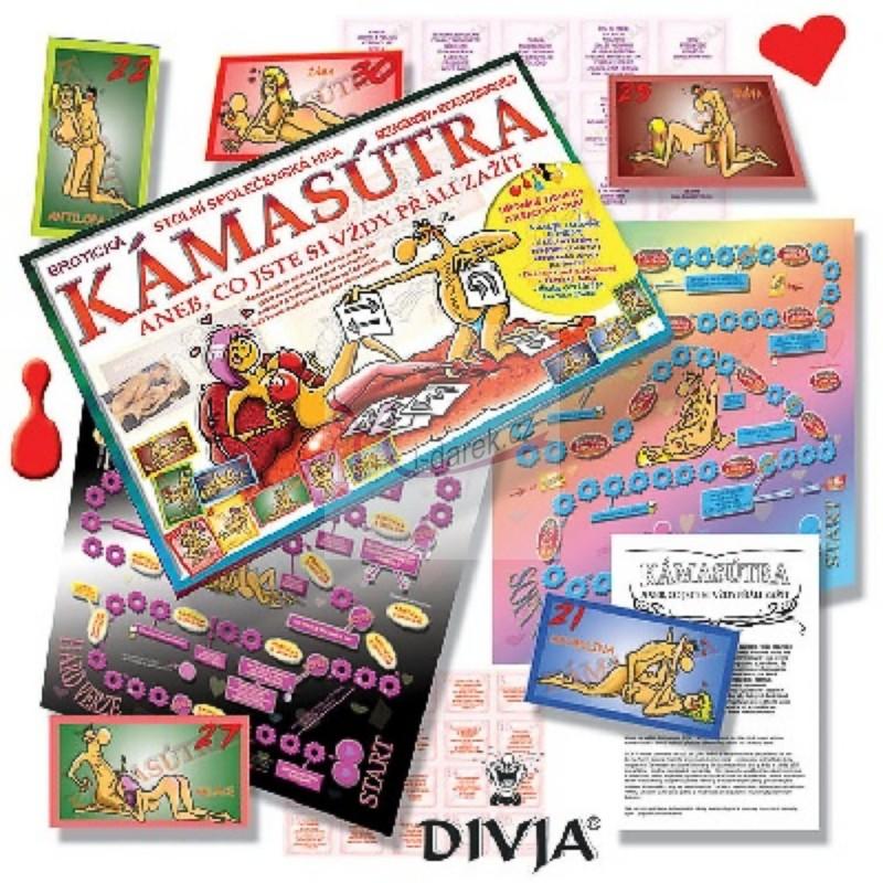 140c90a8b Kámasútra, tajné želanie - erotická stolová hra | Originálne ...