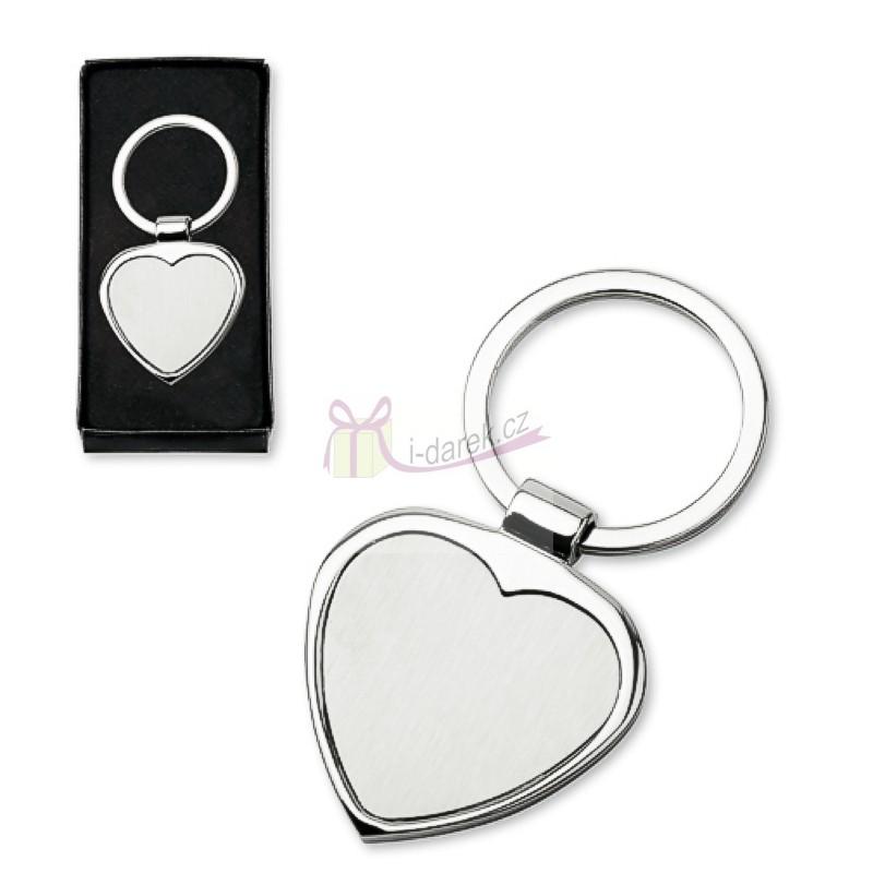 Kľúčenka srdce matné  0b130611081