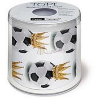 3fe83035e5e62 Toaletný papier futbalová lopta